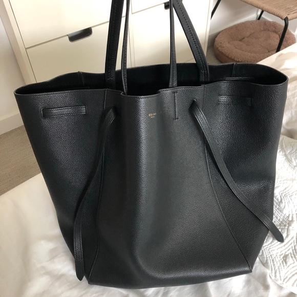 Celine Handbags - 💯Celine Medium Cabas Phantom Tote f641af411421f